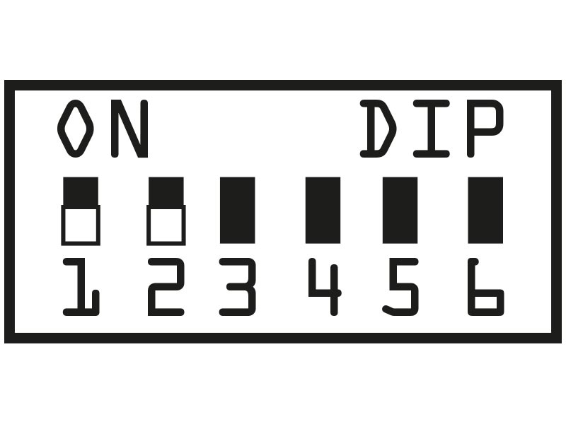 Prisma Tibro, Sweden - Prisma Button - DIP-Switch
