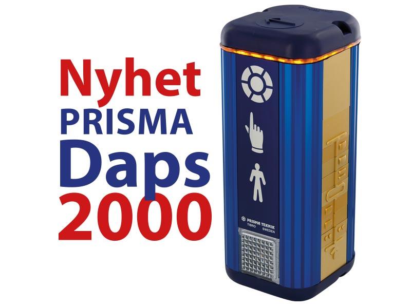 Prisma Tibro, Sweden - Prisma Daps 2000 lanseras