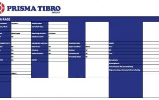 Prisma Tibro, Sweden | Prisma DI | Software Update, export to Excel