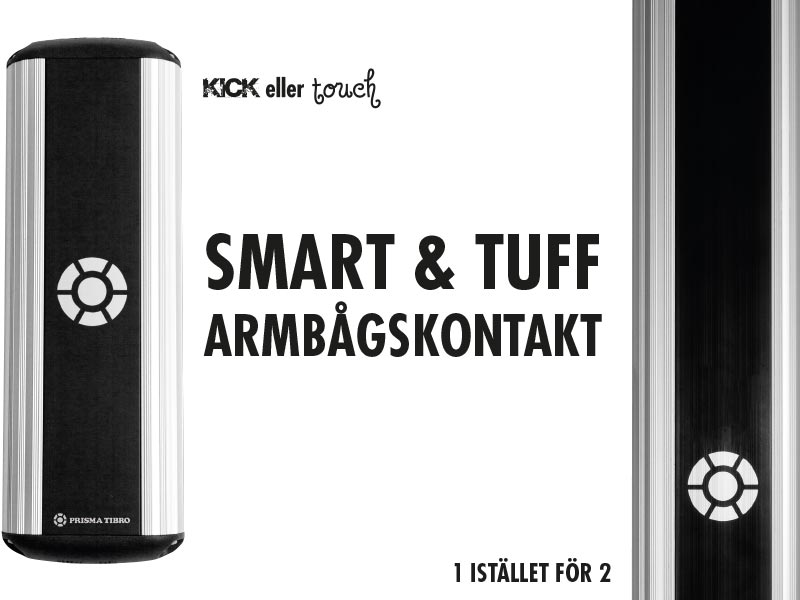 Prisma Tibro, Sweden   Vykort om Smart & Tuff armbågskontakt