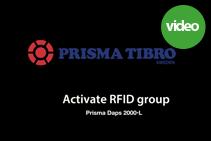 Prisma Tibro Sweden | Prisma Daps 2000 | App: Activate RFID Group