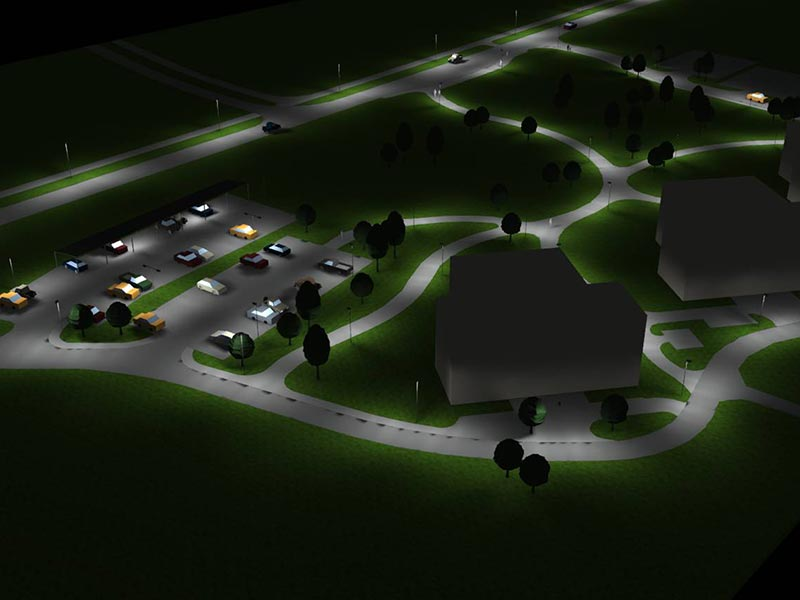Prisma Tibro, Sweden | Prisma Eliott | Vi utför ljusberäkningar | LED gatubelysning Made in Tibro