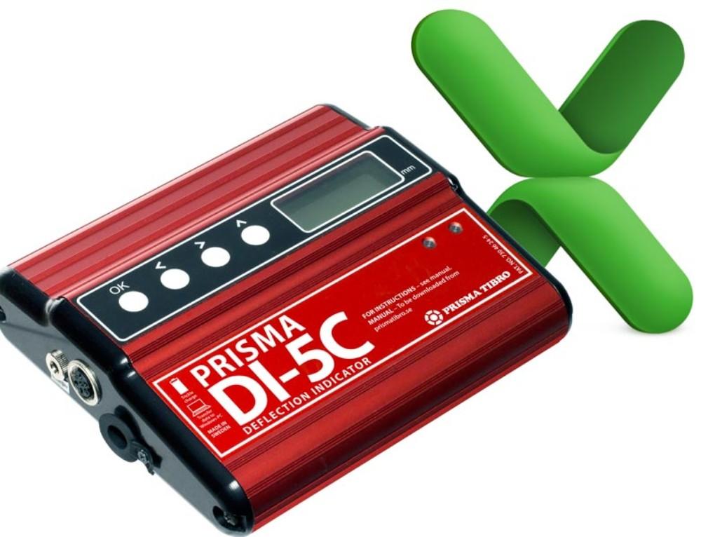 Prisma DI-5C export till Excel