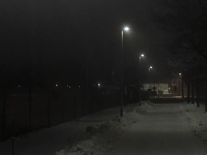 Prisma Tibro, Sweden   Prisma Eliott   Vi utför ljusberäkningar   LED gatubelysning Made in Tibro   Torvalla IP   LED, motionsspår