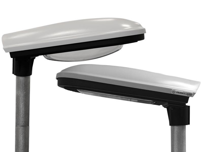 Prisma Tibro, Sweden | Prisma Eliott | Steglös inställning | LED gatubelysning | LED gatubelysning - Kupa eller planglas