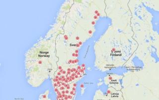 Prisma Tibro, Sweden | Prisma Eliott | Steglös inställning | LED gatubelysning | Referenser Sverige och Danmark LED gatubelysning , vägbelysning