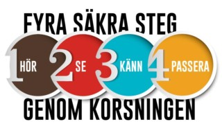 Prisma Tibro, Sweden | Prisma Daps | Fyra säkra steg genom korsning