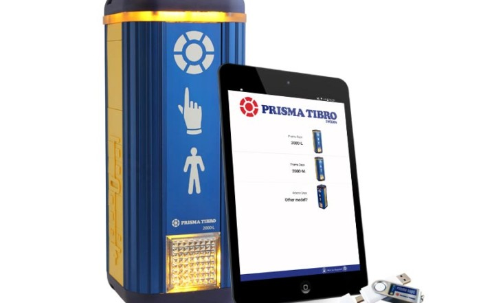 Prisma Tibro, Sweden | Prisma Daps | Parameterfil, Android app, USB, NFC