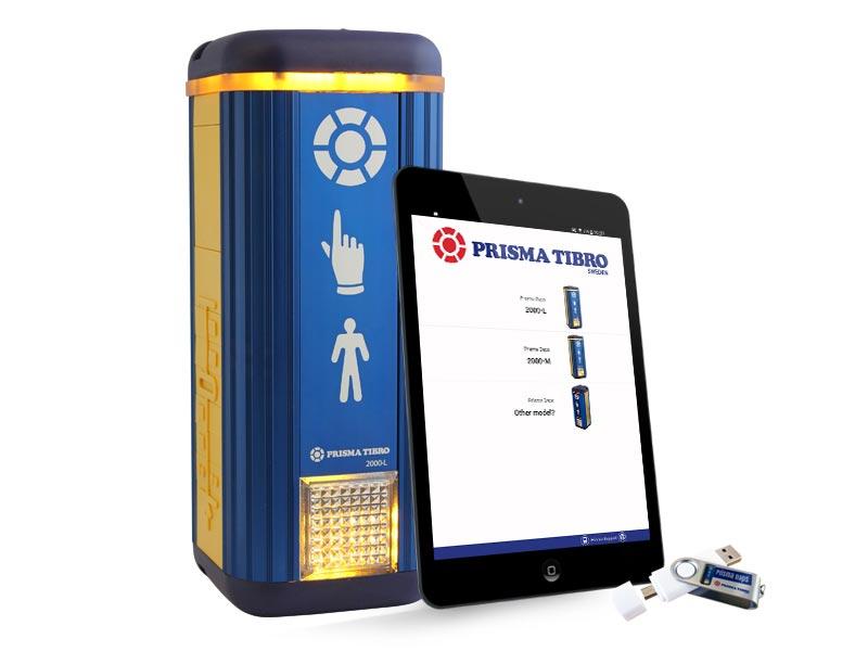 Prisma Tibro, Sweden   Prisma Daps   Parameterfil, Android app, USB, NFC