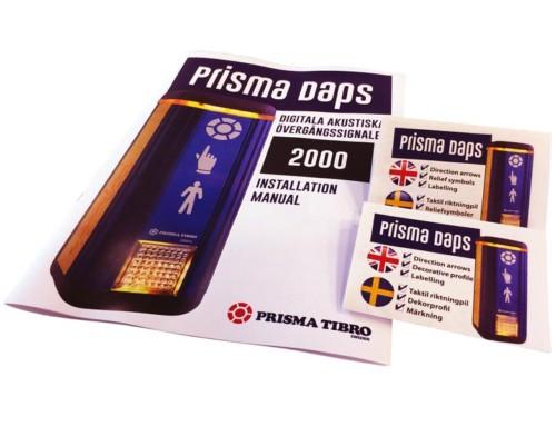 Manual och bipacksedel medföljer Prisma Daps