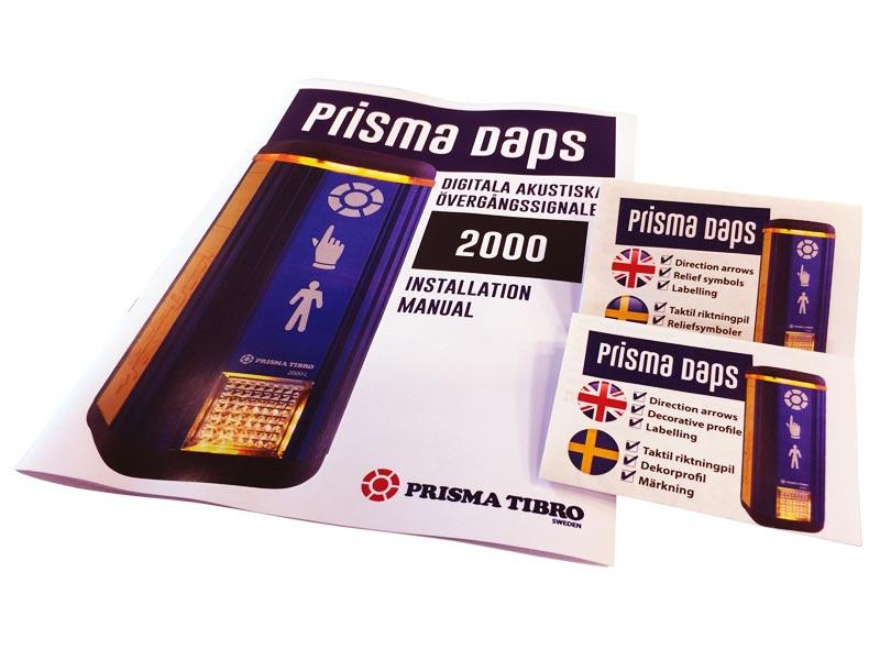 Prisma Tibro, Sweden | Prisma Daps | Manual Montering Installation | Bipacksedel