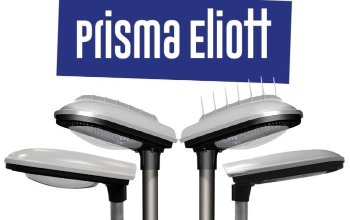 Prisma Tibro, Sweden | Prisma Eliott | LED gatubelysning |Vägbelysning | Polykarbonat, polycarbonate, PC, plastic