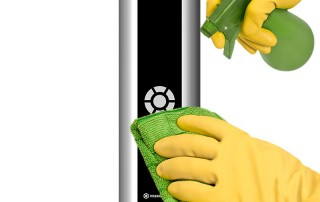 Prisma Button   Armbågskontakt   Aktiveringslist   Anpassad för vårdhygien