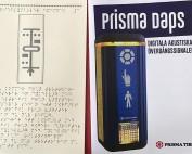 Prisma Tibro, Sweden | Prisma Daps | Brailleskrift, blindskrift