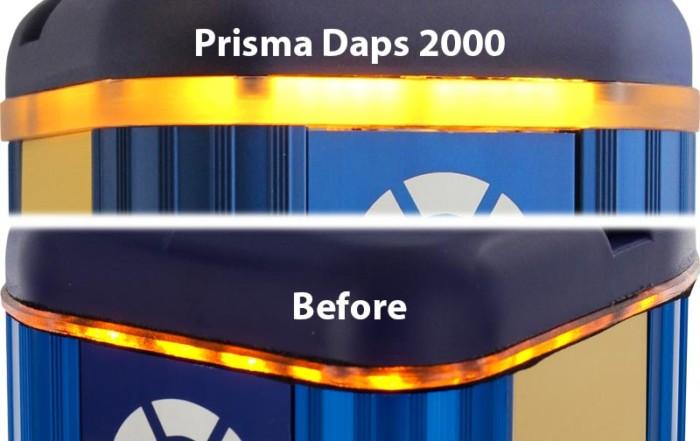 Prisma Tibro, Sweden   Prisma Daps   LED Light Ring developed