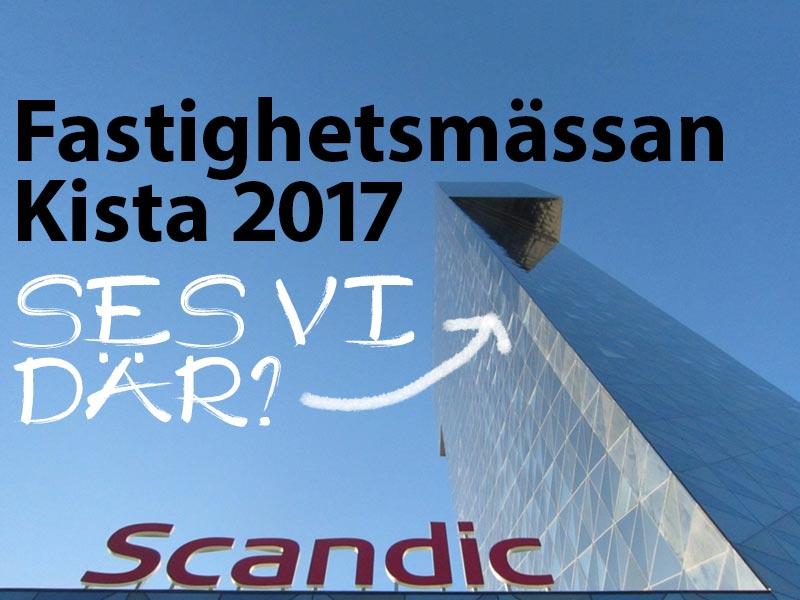 Prisma Tibro, Sweden | Prisma Button | Fastighetsmässan, Kista 2017