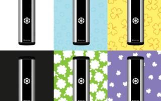 Prisma Button   Armbågskontakt   Aktiveringslist   Kontrasterande NCS 0,80