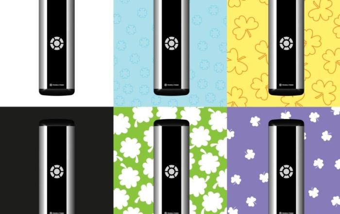 Prisma Button | Armbågskontakt | Aktiveringslist | Kontrasterande NCS 0,80
