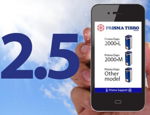 Android-app Prisma Daps 2.5