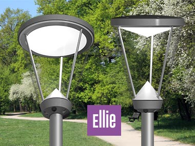 Prisma Tibro, Sweden | Prisma Light Ellie | LED Parkarmatur