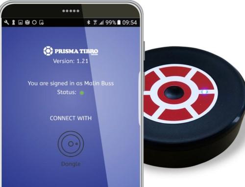 Android-app och dongle