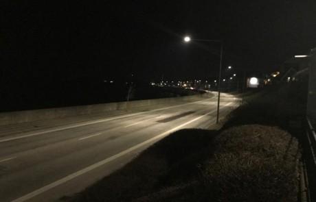Prisma Tibro, Sweden | Prisma Eliott | LED gatubelysning |Vägbelysning | Säkerhet i motionsspår, elljusspår, motionsspår, löparspår | Referens Danmark, Bornholm, Rønne