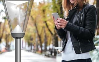 Prisma Tibro, Sweden   Prisma Light Ellie   LED Parkbelysning, Gatubelysning   Android-app tillsammans med Dongle