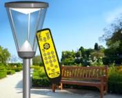 Prisma Tibro, Sweden | Prisma Light Ellie | LED Parkbelysning, Gatubelysning | Remote, fjärrkontroll