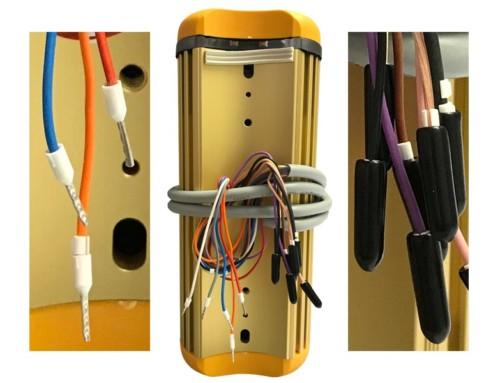 Isoleringsskydd för kablar som inte används