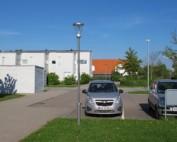 Prisma Tibro, Sweden | Prisma Light Ellie | LED Parkbelysning, Gatubelysning | Prisma Light Ellie monterade, på plats