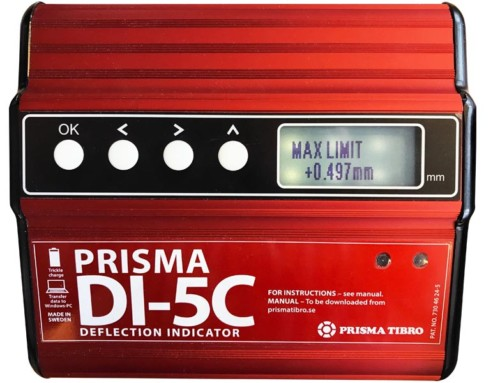 Change Limit Value on Prisma DI-5C