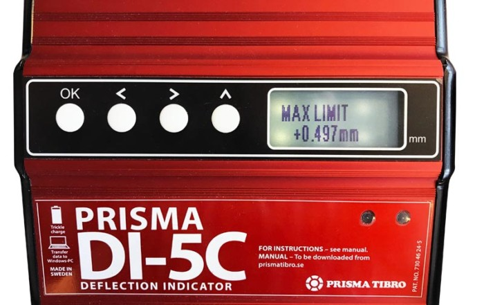 Prisma Tibro, Sweden | Prisma DI | Deflection Indicator
