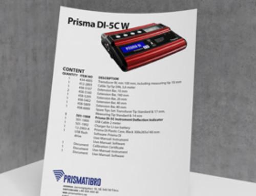 Prisma DI-5C W Content-list