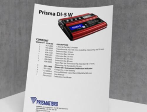 Prisma DI-5 W Content-list