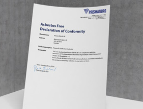 Asbestos Free Declaration of Conformity