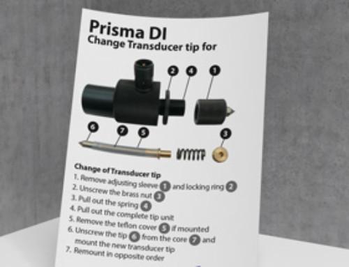 Prisma DI Manual Change Transducer Tip