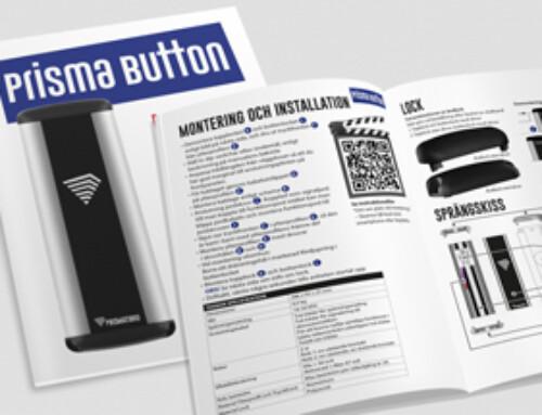 Prisma Button 300 Manual Installation