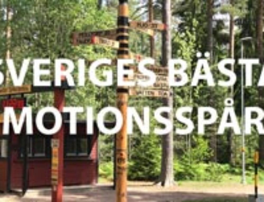Sveriges Bästa Motionsspår