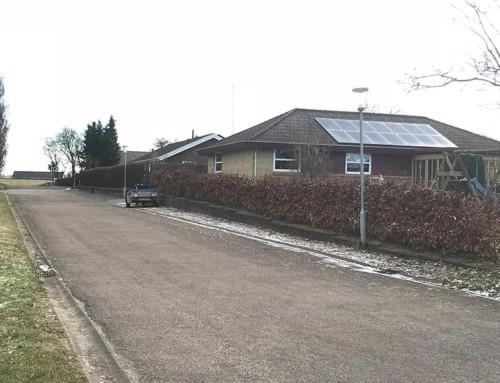Villaområde: Vedsted, Haderslev, Danmark