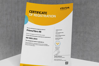 PrismaTibro ISO 9001