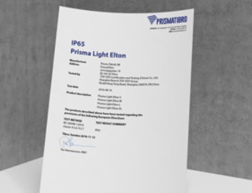 Prisma Light Elton IP-test