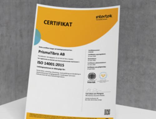 ISO 14001:2015 Certifikat