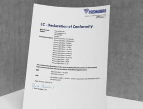 Prisma Light Elton EC Declaration of Conformity