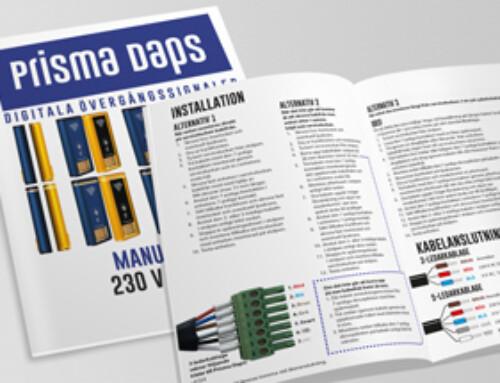 Prisma Daps 2300•S Manual 230 V