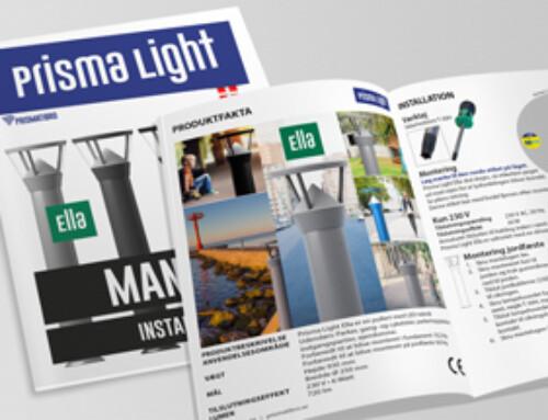 Prisma Light Ella Manual installation