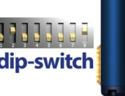 Prisma Daps 2300•S, adjusting the Dip-switches