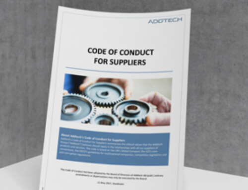 Code of conduct Suppliers
