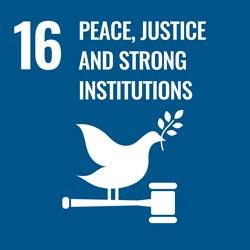 Fred, rättvisa och starka institutioner