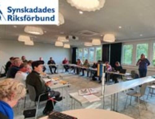 SRF Synskadades Riksförbund utbildades och delade med sig