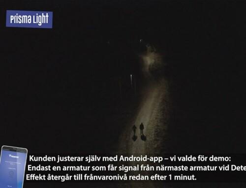Prisma Light Detect genom drönares ögon